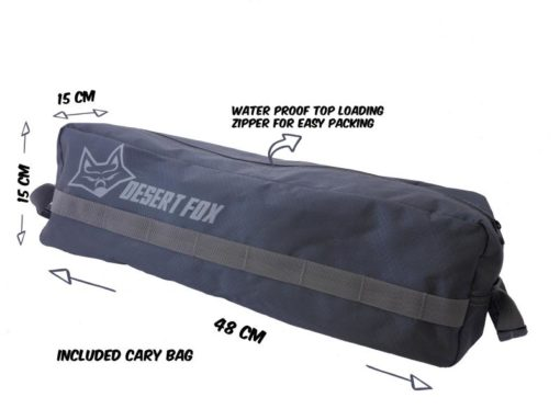 camping stretcher bag for poles and top