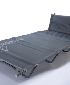 camping sun lounger with back rest