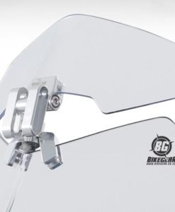 wind reducer for motorcycle shield